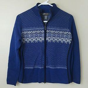 Eddie Bauer Sport Zip Merino Wool Sweater